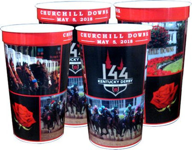 Kentucky Derby 144 22oz. Souvenir Cups - 4 Pack