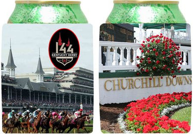Kentucky Derby 144 Collapsible Can Holder