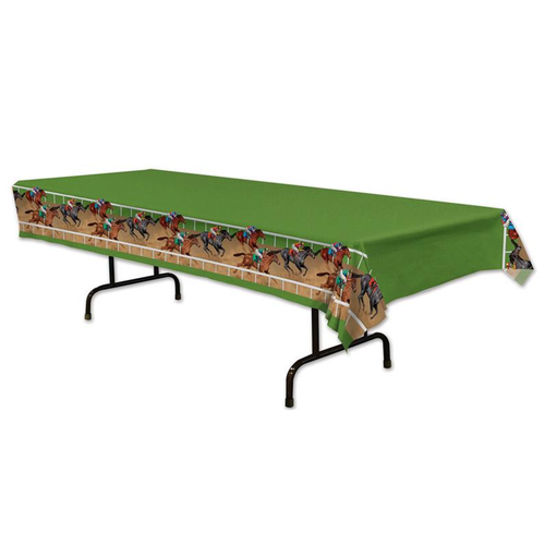Derby Party Horseracing Theme Table Cover
