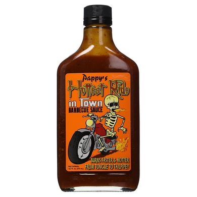 Pappy's Hottest Ride in Town Kentucky Barbecue Sauce