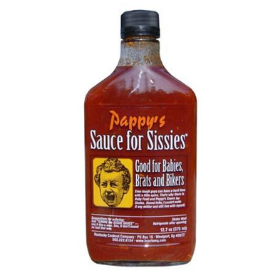 Pappy's Sauce for Sissies Mild Kentucky BBQ Sauce