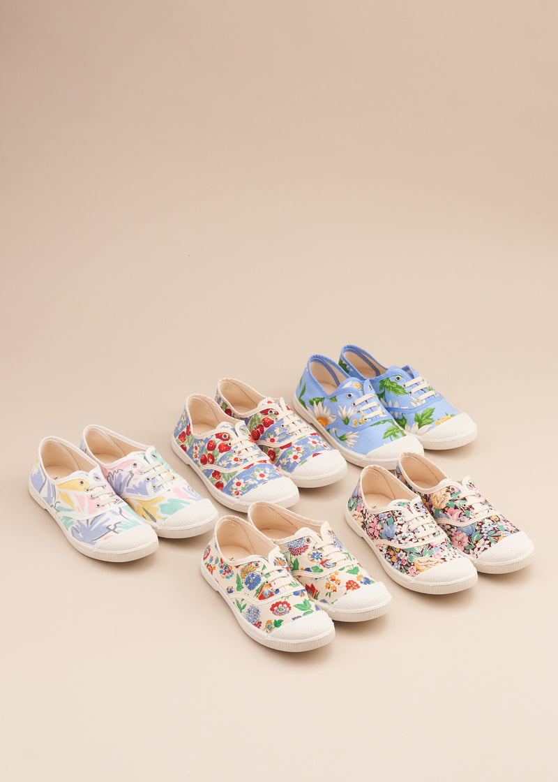 Adeline Vintage Fabric Sneakers - Now in!