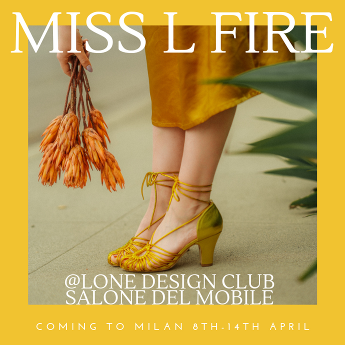 Miss L Fire Comes To Milan: Lone Design Club // Salone Del Mobile