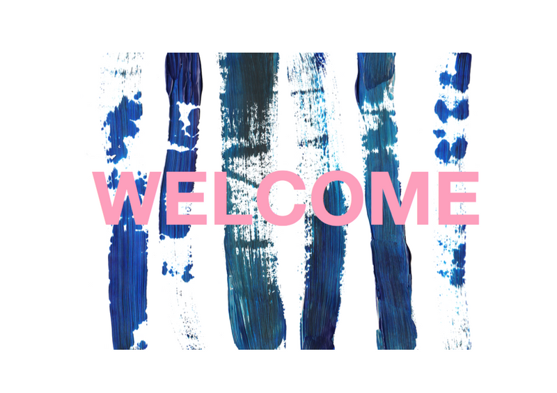 WELCOME // NEW WEBSITE