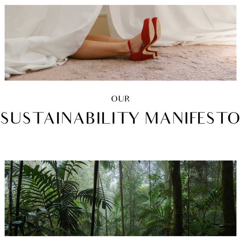 sustainability manifesto for Miss L Fire