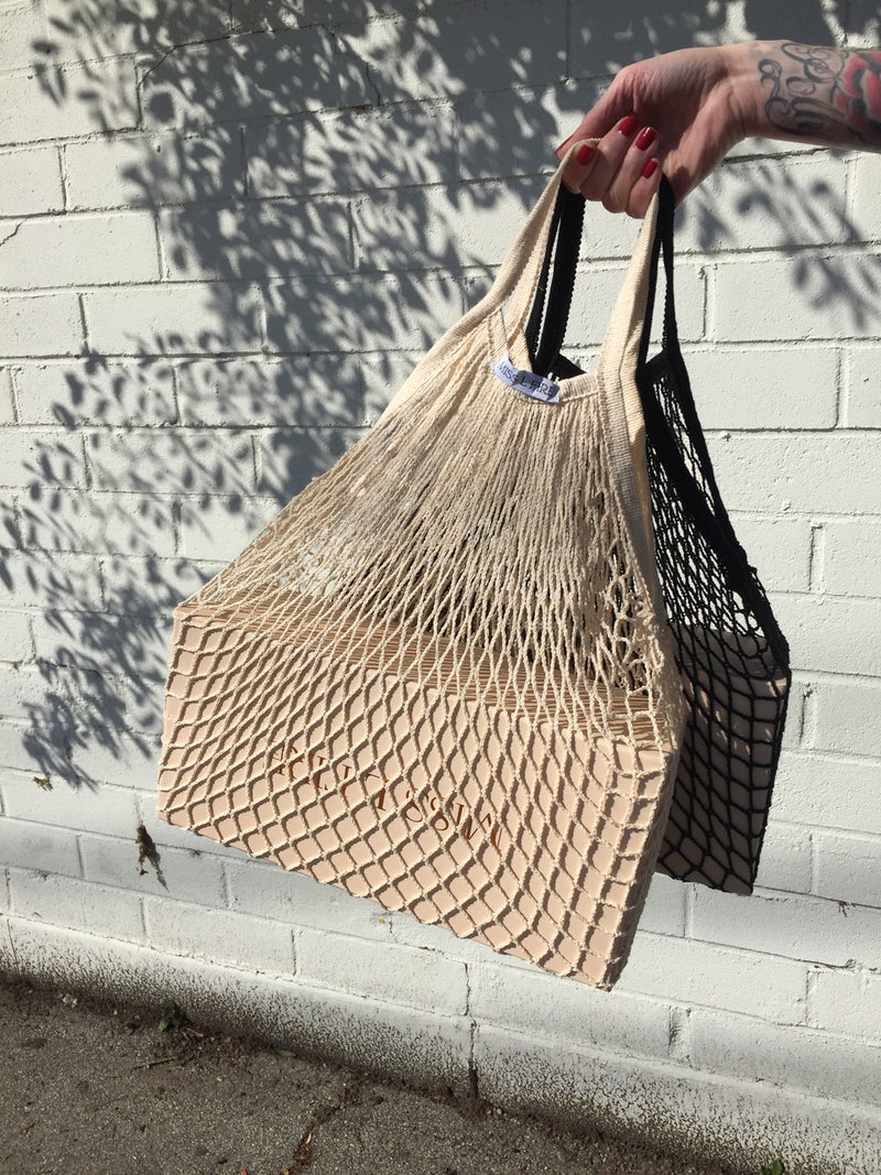 Fishnet shopper