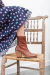 Jane Brown Zip Ankle Boots
