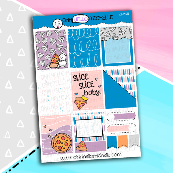 Slice Slice Baby Full Boxes KT-047 | Planner Stickers Sized for the ECLP