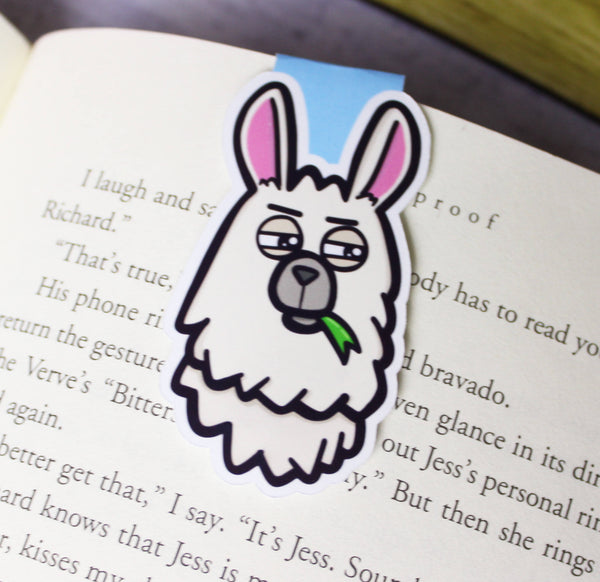 Llama Drama MB-003 | Magnetic Bookmark