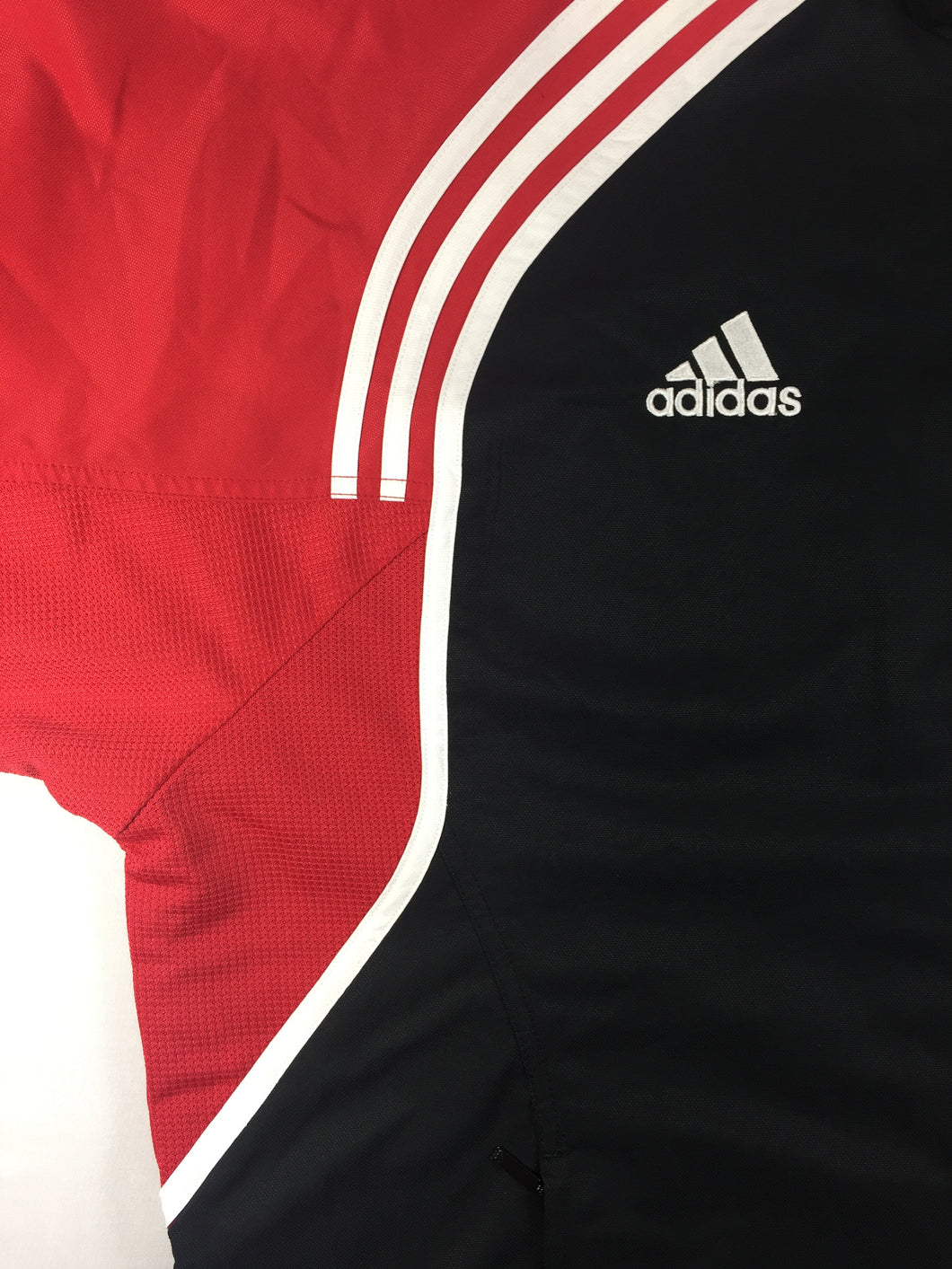 009c2c8932d1 Adidas Track Jacket Black Red White Large – The Modernist Clothing ...