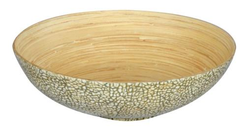 Eggshell Bamboo Bowl (Colour Natural) Bowl