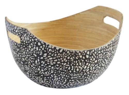 Eggshell Bowl Handles (Colour Black) Bowl