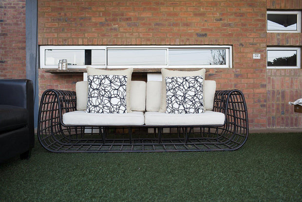 Hockenheim 4 Piece Outdoor Lounge Set (Colour Wood Series)