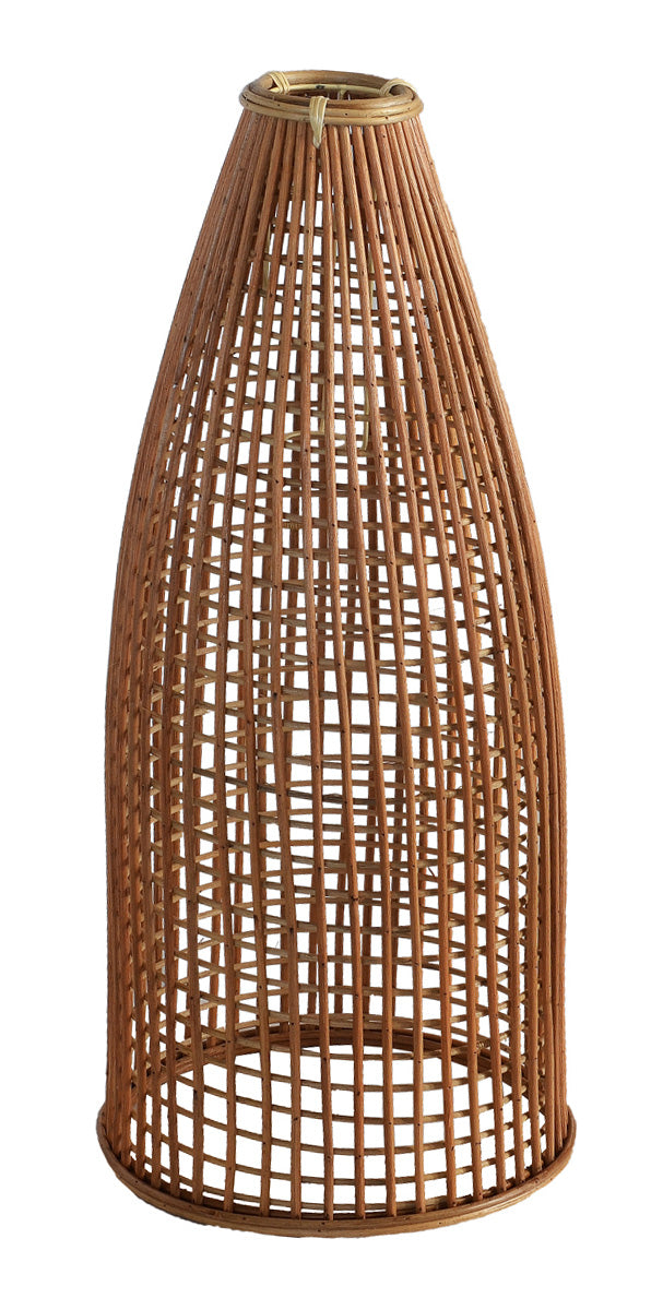 Jute Rattan Cone Pendant (Colour Natural)