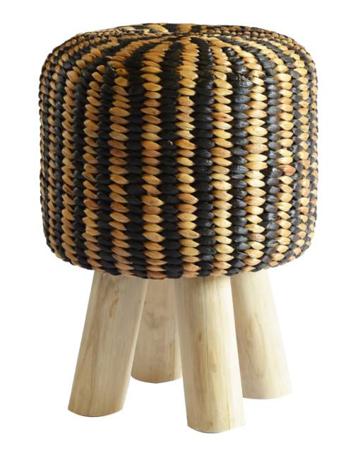 Leopard Stool Large (Colour Natural Black) Stools