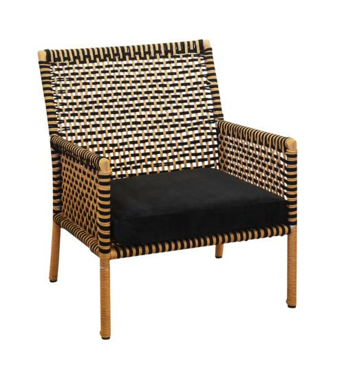 Rope Chair (Colour Natural & Black) Occasional Chairs