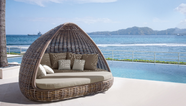 Oceana,Daybed,Tru Outdoor Luxury,Tru Outdoor Luxury