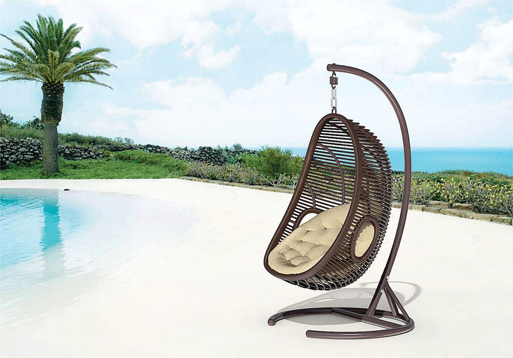 Valencia Outdoor Hanging Chair with cushion (Colour Wood Series)