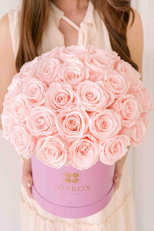 Everlasting Dome of 50 Roses- Choose Color