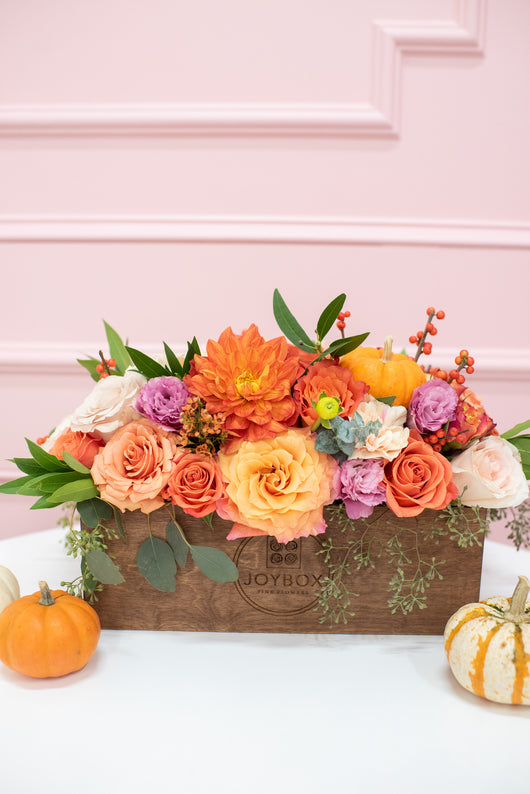 Limited Edition Pumpkin Tabletop Box