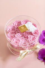 NEW! Everlasting Roses- Everlasting Roses and Orchids Box (choose color)