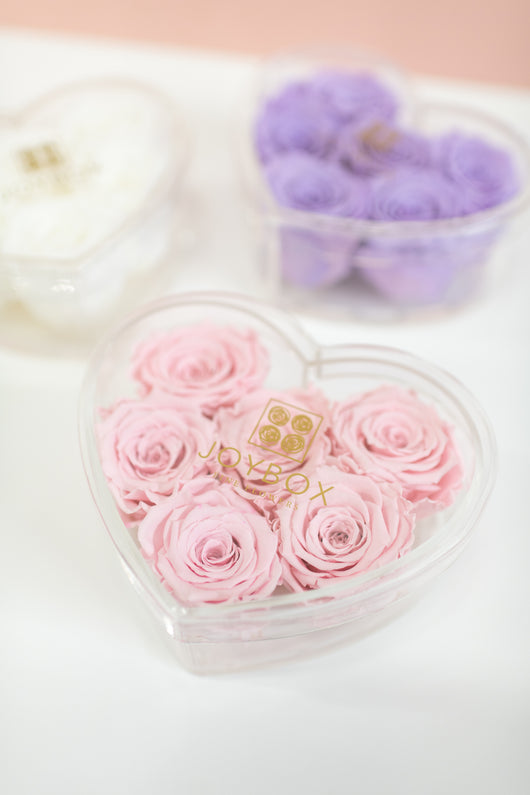 Everlasting Roses- Heart box