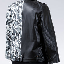 Two-Faced Biker Jacket - KiN INC NYC