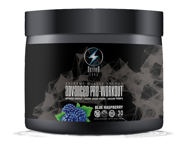 Pre-Workout Blue Raspberry