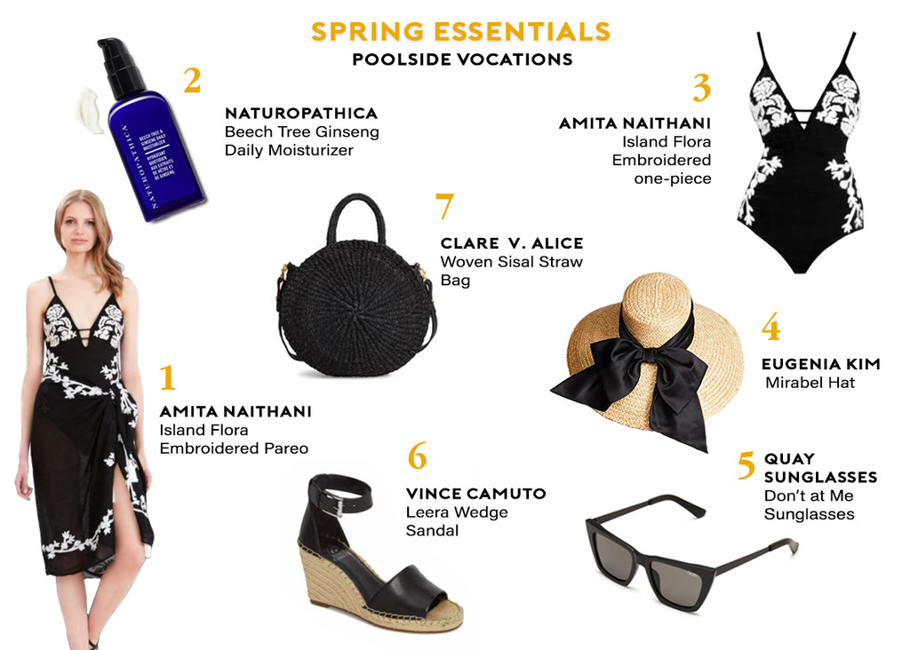 Amita's Packing Guide: Spring Essentials