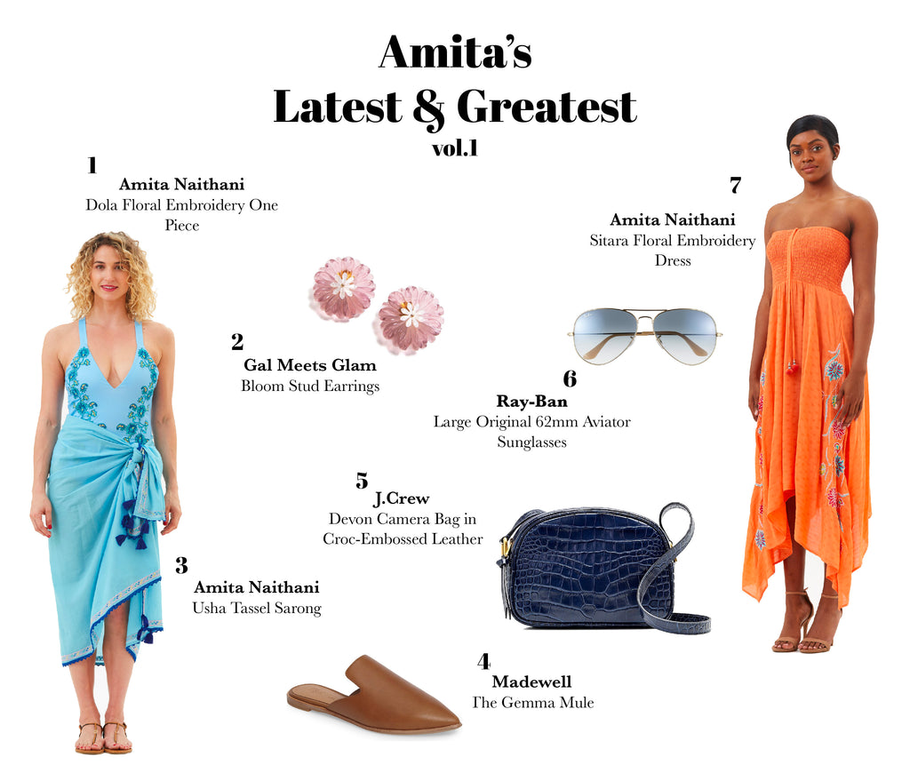 Amita's Packing Guide: Amita's Latest & Greatest