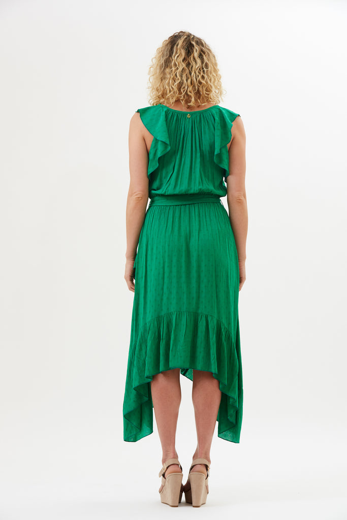 Namita Vintage Ruffle Dress