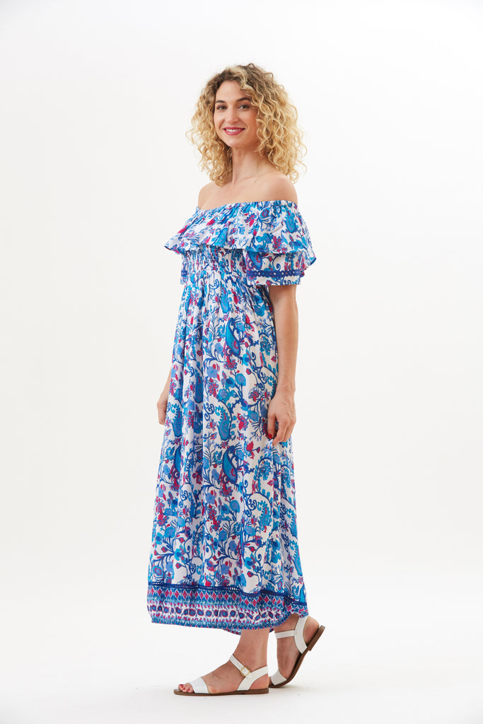 Priya Garden Paisley Dress