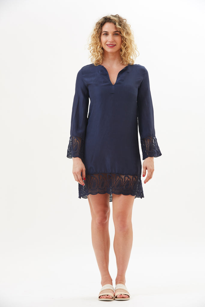 Shiva Lace Trim Tunic