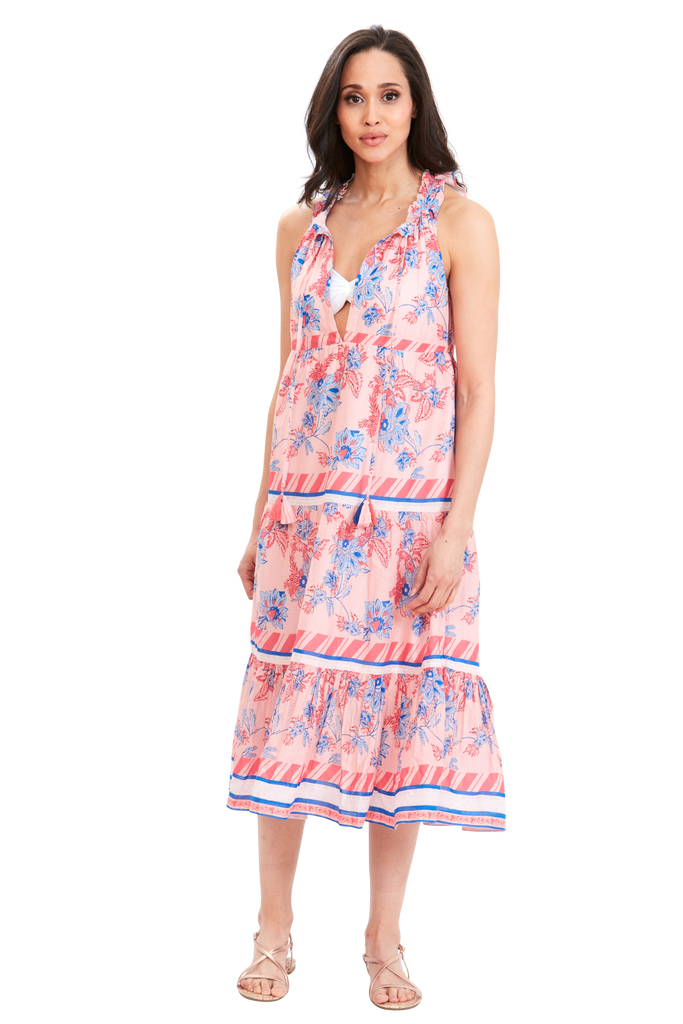 Tropic Haven Border Dress