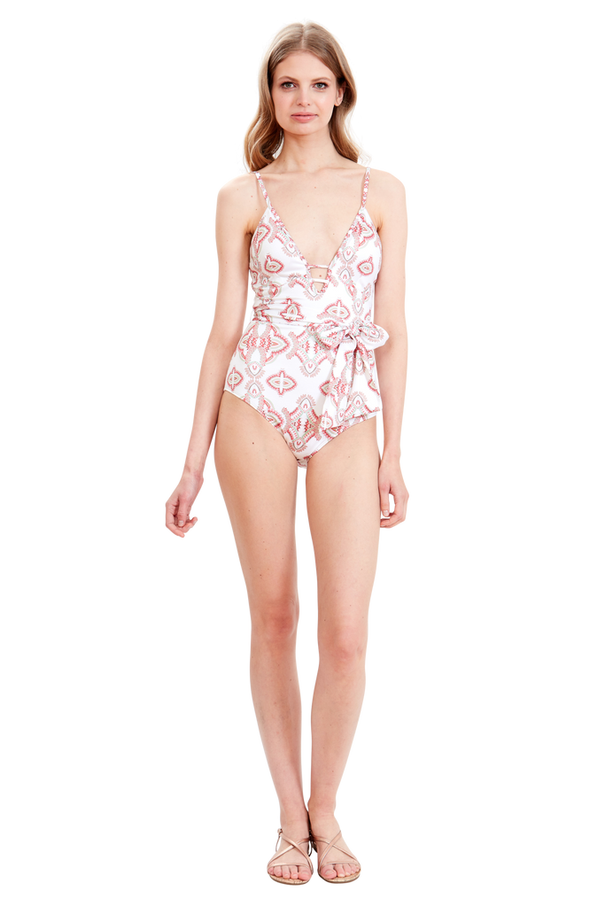 Modern Paisley One-Piece