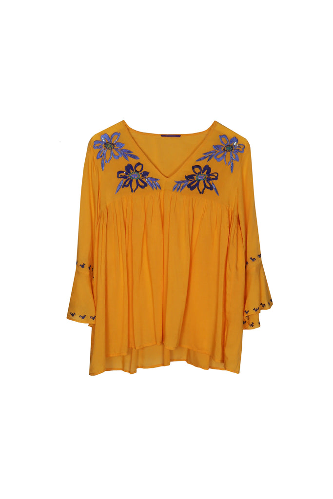Manisha Embroidered Top