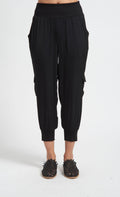 Soft Cropped Cargo Pant with Pockets