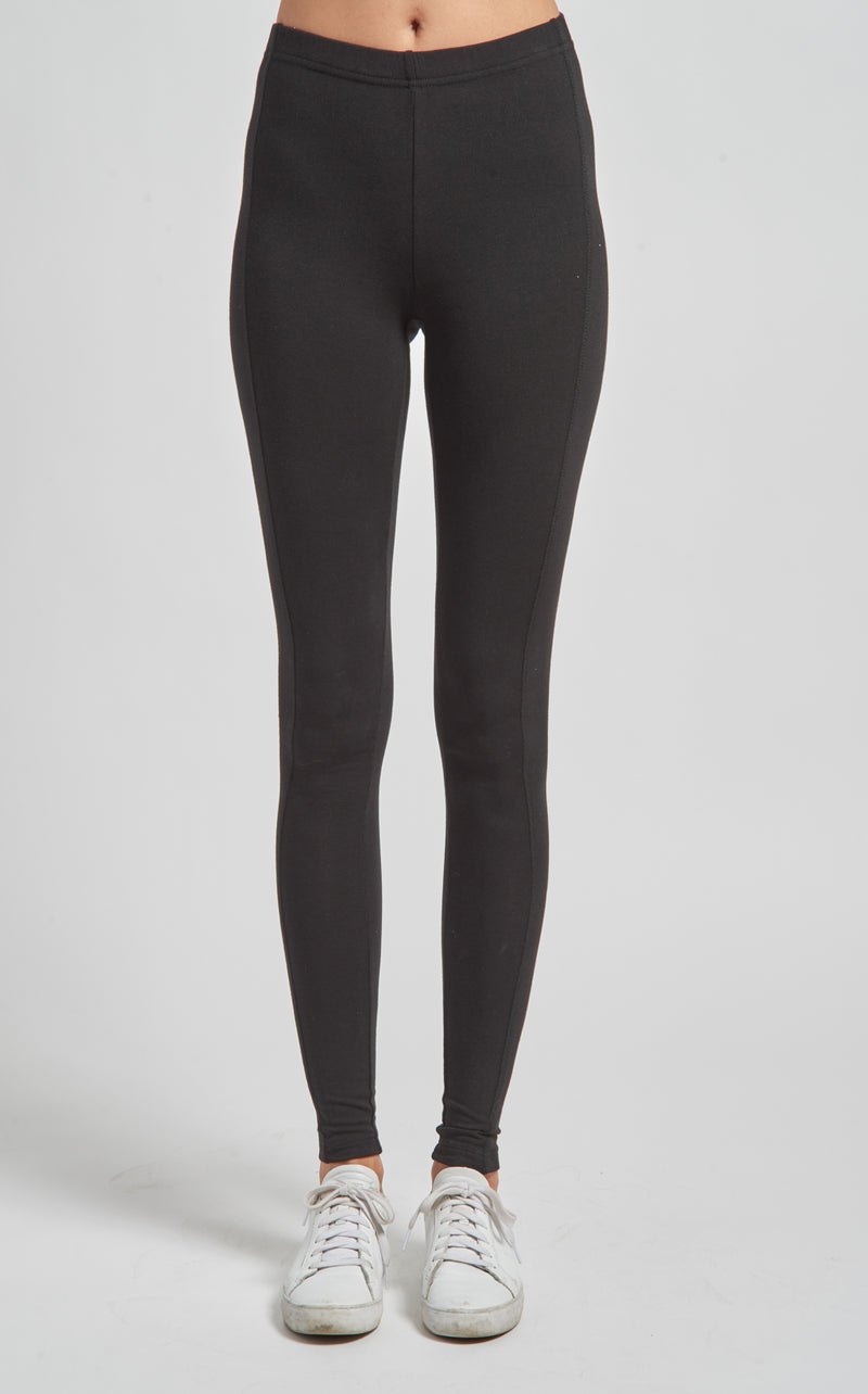 Pull On Legging with Side Panels