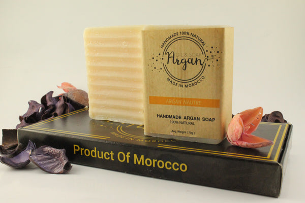 argan organic soap