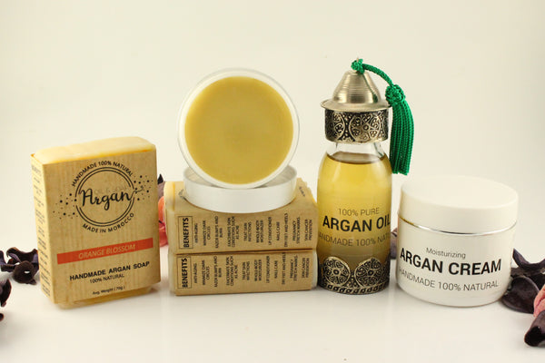 argan oil cream and balm handmade 100% organic
