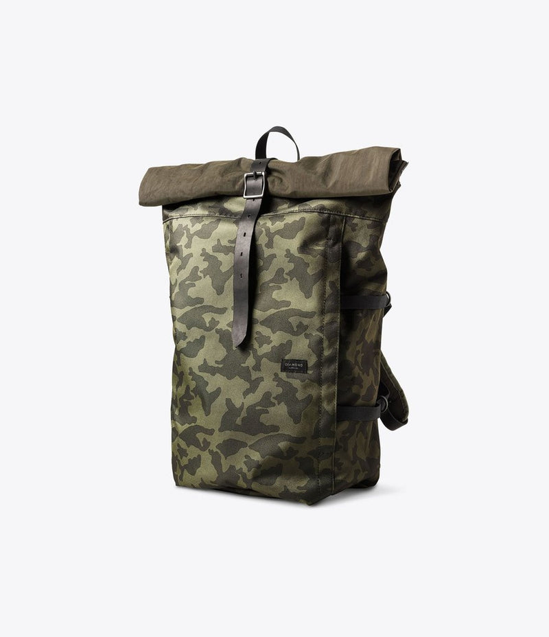 Diamond Camo Rolling Bag