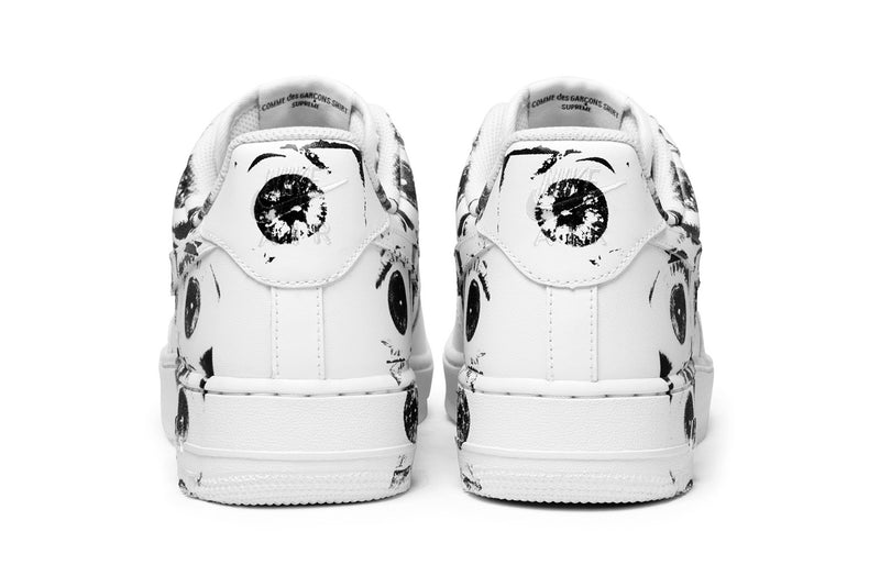 detailed look f2957 0b07c Supreme Air Force 1 Comme des Garcons