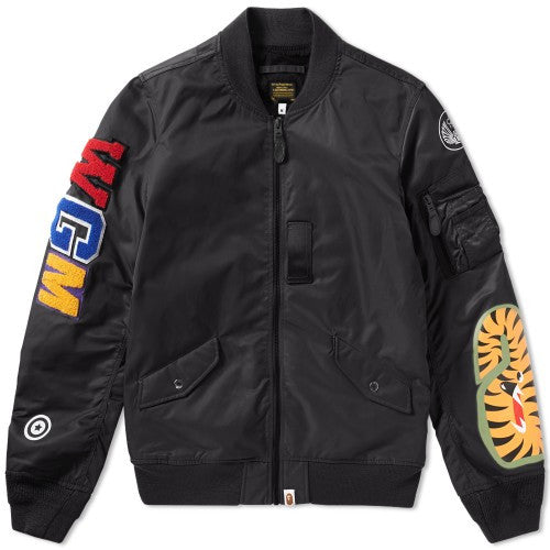 Bape Ape Lightweight Shark MA-1 Jacket