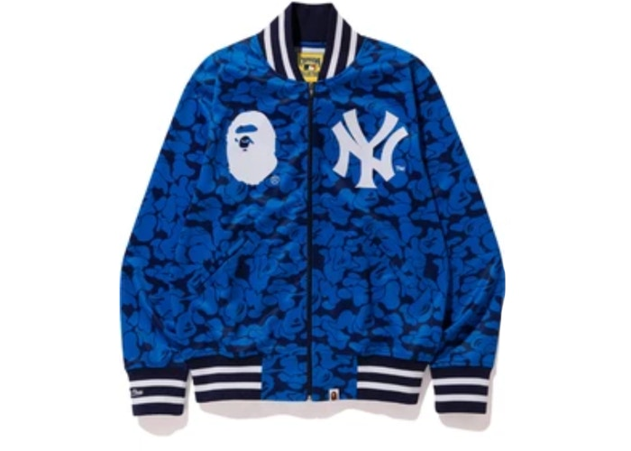 Bape x Mitchell & Ness Yankees Jacket