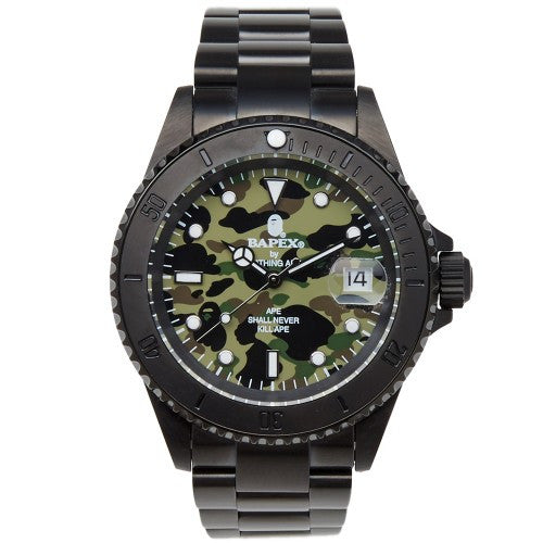 Bape 1st Camo 1 Bapex Watch