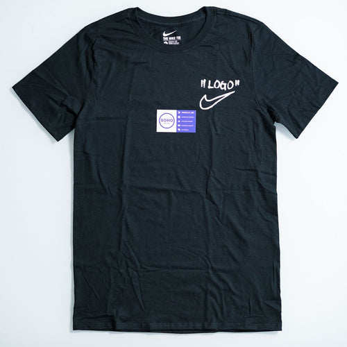 Nike x Off-White Off Campus Black Logo Tee
