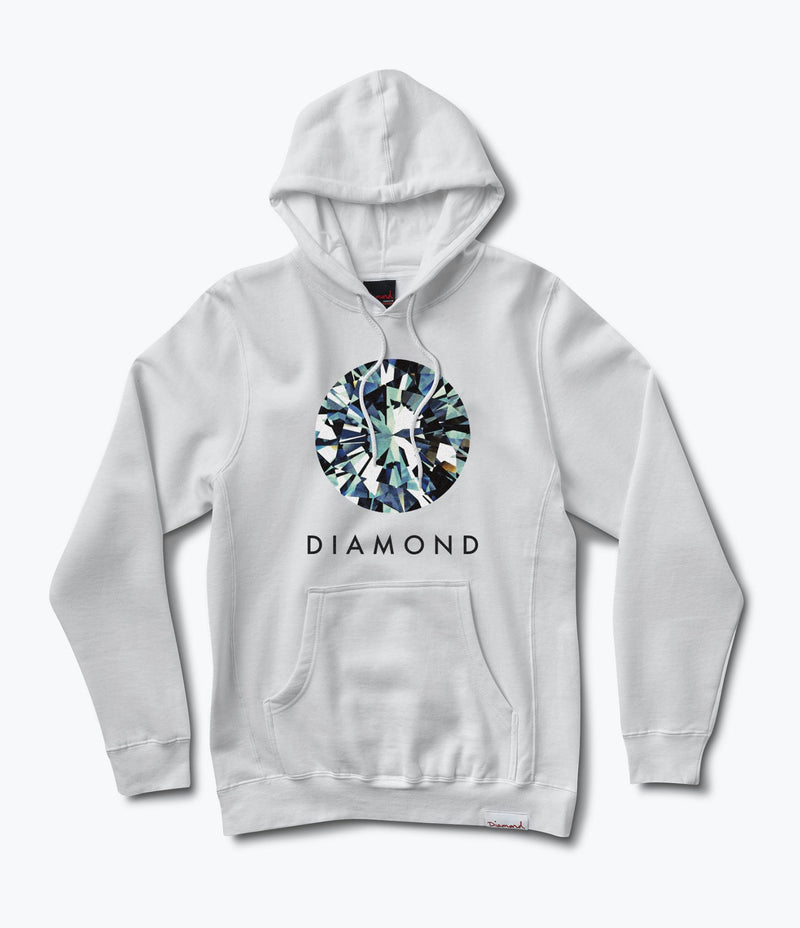 Diamond Dispersion Pullover Hoodie
