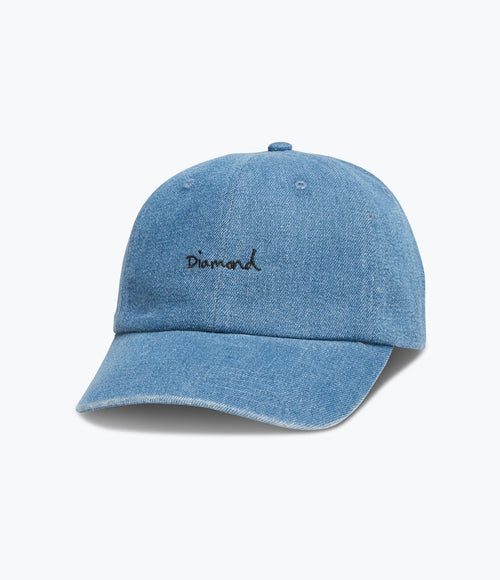 Diamond OG Script Denim Sports Hat