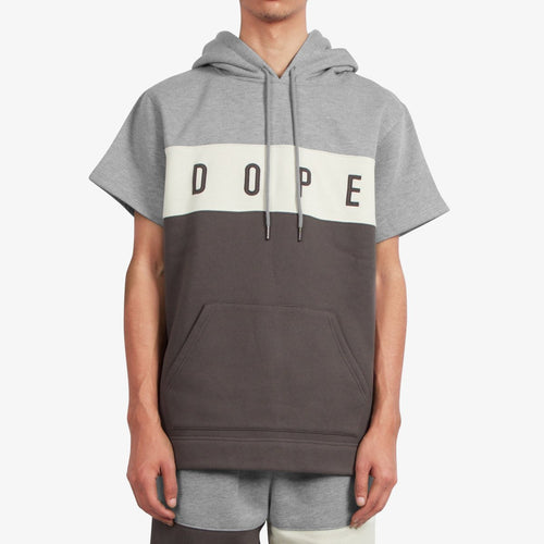 Dope Knockout Paneled S/S Hoodie