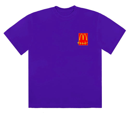 Travis Scott x McDonald's Action Figure Series Tee